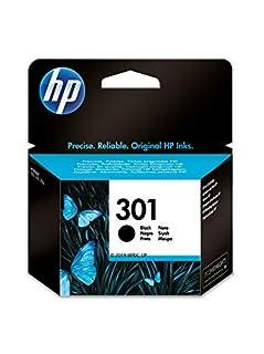 HP 301 CH561EE, Cartucho Original de Tinta Negro , compatible con impresoras de inyección de tinta HP DeskJet 1050, 2540,3050; OfficeJet 2620, 4630; ENVY 4500, 5530 (B003LNLPQ6)   Amazon price tracker / tracking, Amazon price history charts, Amazon price watches, Amazon price drop alerts