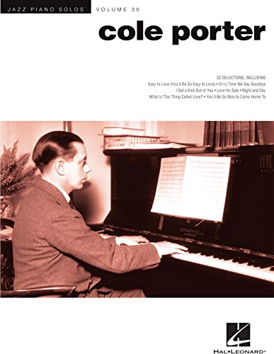 Cole Porter - Jazz Piano Solos Series Volume 30 (English Edi