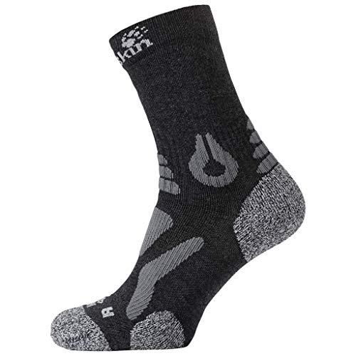 Jack Wolfskin Uni Hiking PRO Classic Cut Socken, Dark Grey, 41-43