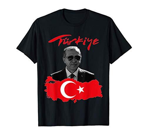 Recep Tayyip Erdogan Türkiye Flagge Geschenkidee T-Shirt