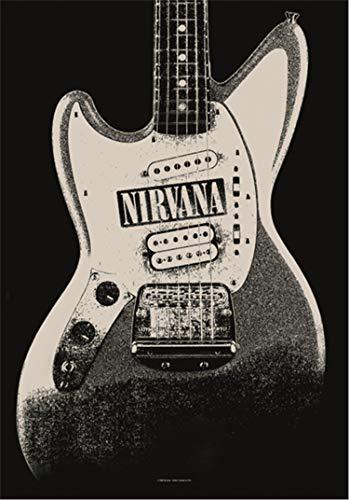 Heart Rock Original Nirvana jag STANG Flagge, Stoff, mehrfarbig, 110 x 75 x 0,1 cm