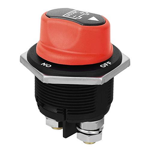 Jtron Interruptor de batería para coche, máx. 12 V – 32 V CC, 200 A, Cont 300 A INT, para coche, moto, yate, interruptor de selección de batería (encendido/apagado/200 A)