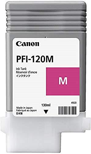 Canon PFI120M adatto per IPF TM200 Inchiostro magenta 2887C001 130ml