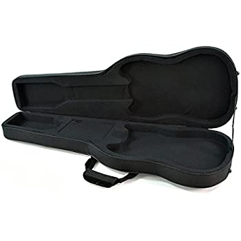 Rocktile 28119 - Estuche guitarra eléctrica estilo Double Cut: Amazon.es: Instrumentos musicales