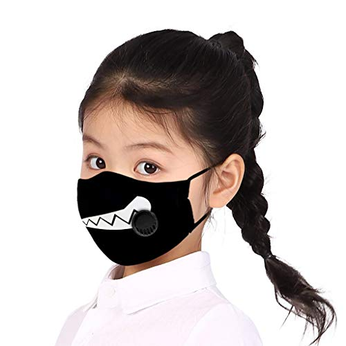 1PC Anti Pollution Face Covering,Face_masks_Reusable Comfy Breathable Dust-Proof Anti Haze,Fashion Reusable Washable Outdoor for Kids Children