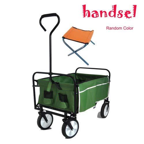 Yvonne Tsai Folding Wagon Garden Shopping Beach Cart