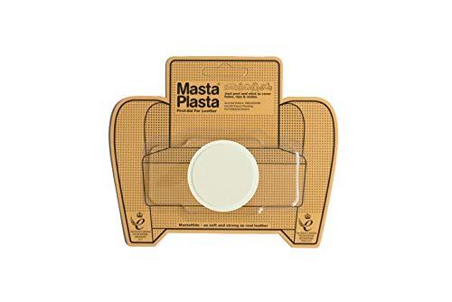 MastaPlasta - Parches autoadhesivos para reparación de Cuero y Otros Tejidos. Marfil. Elije el tamaño y el diseño. Primeros Auxilios para sofás, Asientos de Coche, Bolsos, Chaquetas