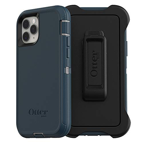 OtterBox DEFENDER SERIES SCREENLESS EDITION Case for iPhone 11 Pro - GONE FISHIN (WET WEATHER/MAJOLICA BLUE)