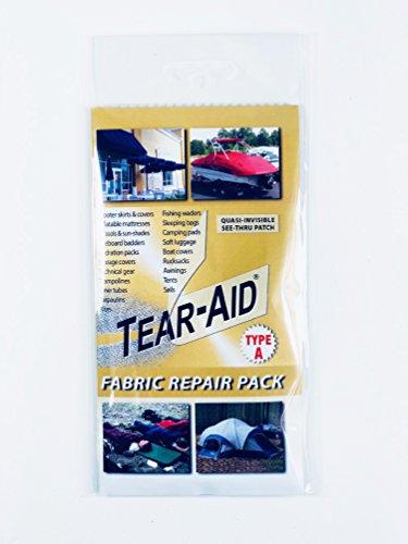 Tear Aid Repair Kit for general fabrics (NOT PVC or Vinyl)