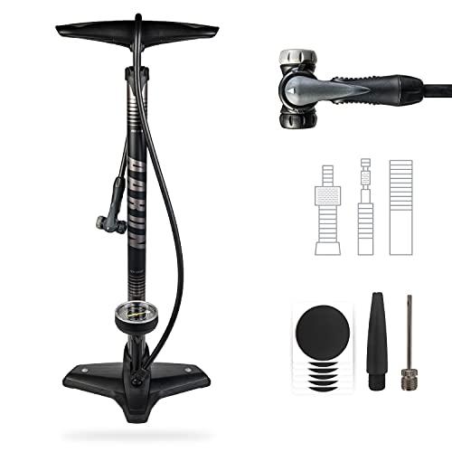 AARON Sport One - Bomba de pie Universal para Bicicletas - con...