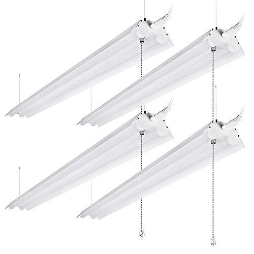 LEONLITE 40W 4ft Linkable LED Utility Shop Light