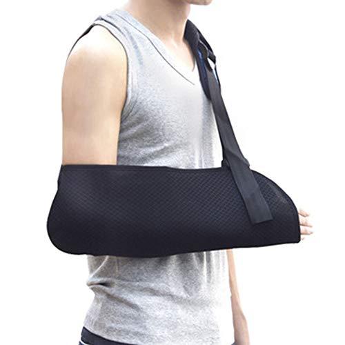 Arm Sling,gebroken botten verstelbare schouder, schouder Rotator manchet ondersteuning voor links, rechterarm, subluxatie, dislocatie, spuit, stammen