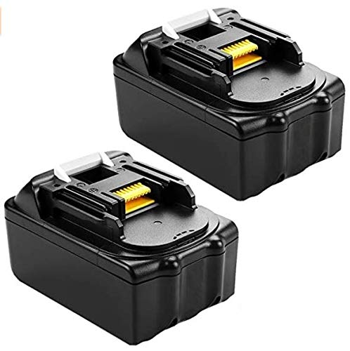2 piezas 18V 3.0Ah BL1830 batería de repuesto para Makita DUH551Z Cortasetos inalámbrico DUC353Z Motosierra inalámbrica DUB361Z Soplador inalámbrico BL1840 BL1850 BL1830