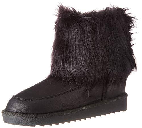 D. Franklin Nordick Basic Big Fur Black, Botas Slouch Mujer, Negro (Negro...