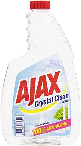 Ajax–Reiniger für Glas, mit Ammoniak, 100% Magnesiumlegierung–1 x 750 ml