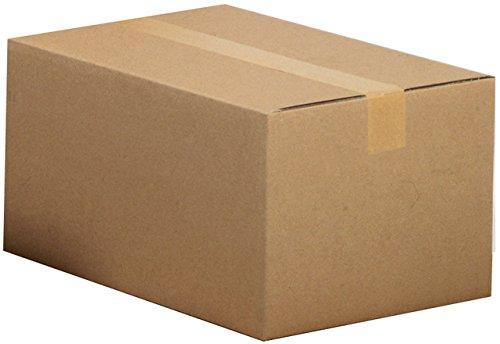 Pressel Versandkarton, Wellp, 2w, BC, i: 500x400x350mm, braun, FEFCO: 0201