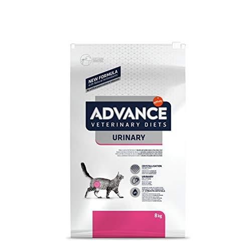ADVANCE Veterinary Diets Urinary - Croquettes pour Chat avec Problèmes Urinaires - 8kg