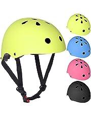 Petyoung Verstelbare Kinderfietshelm Voor Jongens Meisjes Veiligheid Peuterhelm Voor Multisport Fietsen Schaatsen Klimscooter Helm