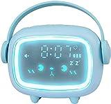 Despertador Infantil,Reloj Despertador niños Digital con Luz,Control de Voz Reloj Despertador con Repetición para niños y niñas,Buen Regalo para Niños