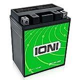 La Moto batería 12V 14Ah AGM IONI Ion (Tipo - YB14L-A2) (sellados/wartungsfrei)