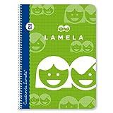 Lamela Cuaderno, 40 hojas, colores surtidos, 1 unidad