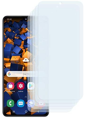 mumbi Schutzfolie kompatibel mit Samsung Galaxy A41 Folie klar, Displayschutzfolie (5X)