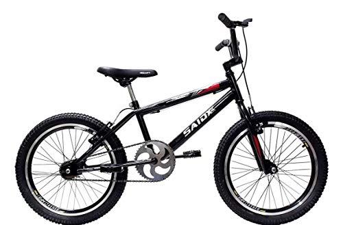 Bicicleta Aro 20 Bmx Cross Freestyle Saidx (Preto)