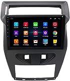MIVPD GPS Navigation Head Unit Sat Nav AUD Audio Player MP5 Player FM Radio Receptor Coche Estéreo 10 Pulgadas Pantalla Táctil Android Compatible con C-Quatre 2012-2020,8 Core 4G+WiFi 2+32GB