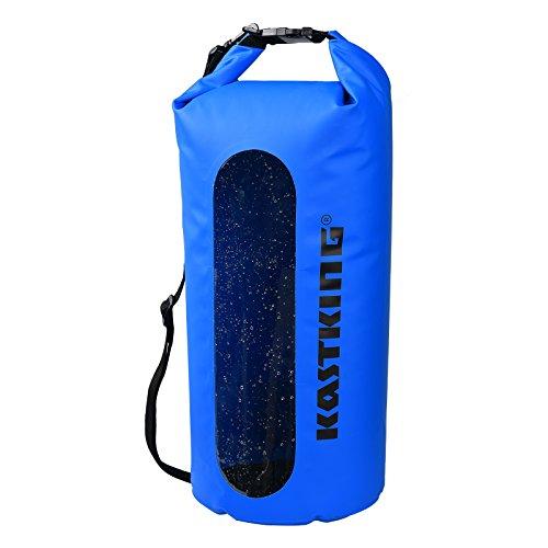 KastKing Floating Waterproof Dry Bag, Blue, 10L