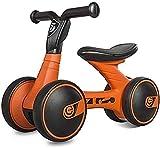 Bicicleta de equilibrio para niños y niñas para niños y niñas – para interiores y exteriores, bicicleta de paseo para niños de 10 a 24 meses, regalo de cumpleaños