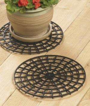 12' Diameter Floor/Patio/Deck/Carpet Protectors (Set of 4)