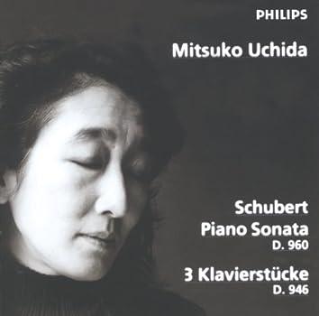 シューベルト:ピアノ・ソナタ第21番、3つの小品