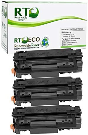 Renewable Toner Compatible Toner Cartridge Replacement for HP 11A Q6511A Laserjet 2420 2420d product image