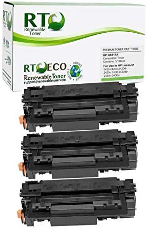 Renewable Toner Compatible Toner Cartridge Replacement for HP 11A Q6511A Laserjet 2420 2420d product image