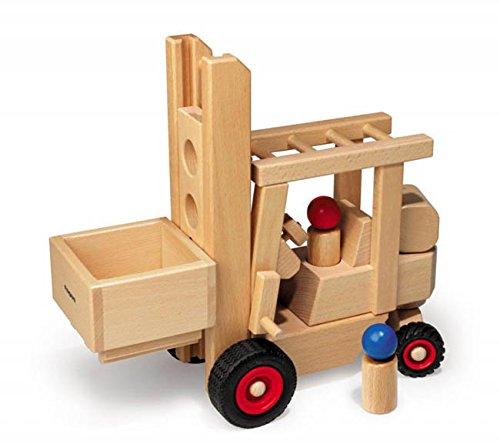 Fagus 10.43 Spielzeugfahrzeug für Kinder, Holz, Schwarz