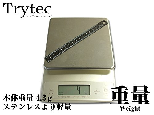 トライテック『CARBON-izmCBC定規15cm』