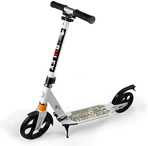 LSK Patinete Scooters De Patadas para Adultos Unisex, Scooters De Cercanías Plegables...