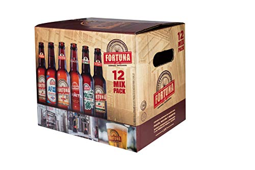 Cerveza Fortuna 12 mix pack