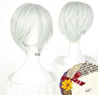 耐熱コスプレウィッグ A3!エースリー 御影 密 コスチュム cos wig 仮装用 かつら