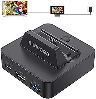 Switchドック 充電スタンド switchに適用 4K HDMI変換/TVモード/テーブルモード Type-Cポート小型 軽量 持ち運び便利 切り替え
