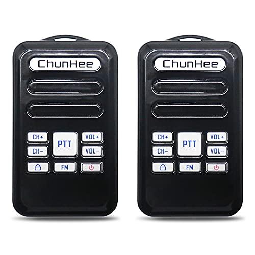 Mini walkie talkie para llamadas bidireccionales de larga distancia, portátil y recargable, 8 canales de volumen 16, adecuado para llamadas en interiores y exteriores