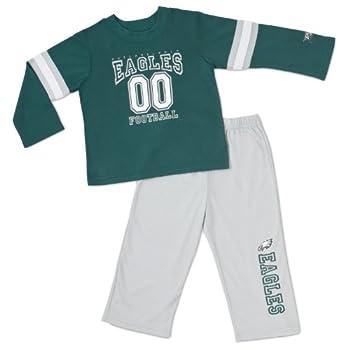 NFL Philadelphia Eagles 2-Piece Set Toddler Pajamas 3T