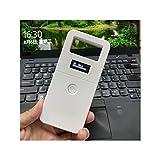 QYLJX Unival ISO11785/84 FDX-B Lector de Microchips de Identificación de Animales, Lector de Chip de Perro de Mano con Escáner RFID, Pantalla OLED