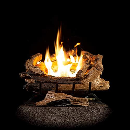 Best Buy! Sure Heat 24 Premier Estate Natural Vent Free Gas Log Set