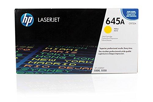 Toner cartridge Original HP 1x Yellow C9732A / 645A for HP Color LaserJet 5500 N