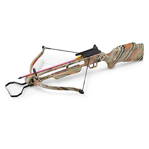 MTech USA MC-DX200AC Crossbow Kit with 2 Arrows, Camo, 150-Pound Draw Weight