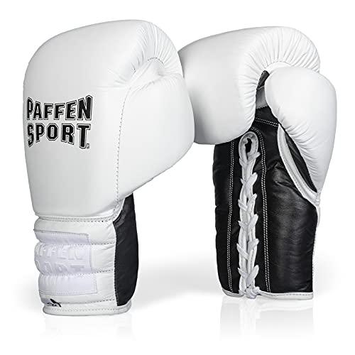 PRO LACE Boxhandschuhe für das Sparring Gewicht: 12uz Farbe: weiß/schwarz