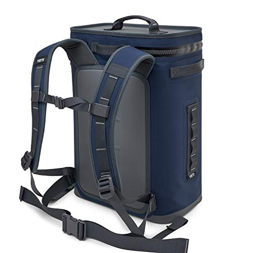 YETI Hopper Backflip 24 Soft Sided Cooler/Backpack, Navy