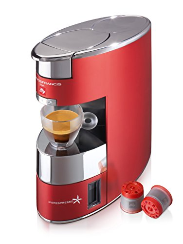 Illy 60178 Macchina Caffè IperEspresso, Rosso