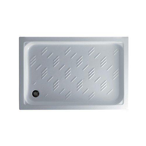 'Galassia - Piatto doccia Plaza Mini cm 120x70 cm bianco